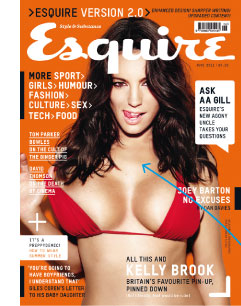Esquire New Look Cover